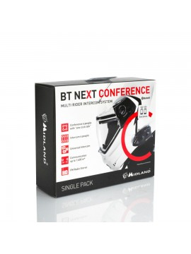 INTERFONO MIDLAND BT NEXT CONFERENCE SINGOLO