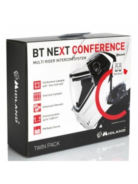 INTERFONO MIDLAND BT NEXT CONFERENCE PACCO DOPPIO
